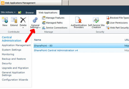blocked file types sharepoint 2010